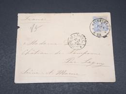 ALLEMAGNE - Enveloppe De Heidelberg Pour La France En 1885 - L 17544 - Covers & Documents