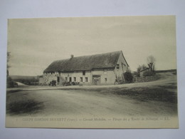 COUPE GORDON BENETT 1905 - VIRAGE DES 4 ROUTES A NEBOUZAT     ANIME     TTB - Autres Communes