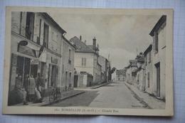 BONNELLES-grande Rue-animee-bureau De Tabac - Andere Gemeenten
