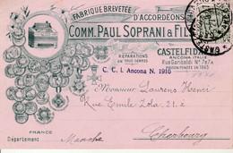Comm.Paul Soprani & Fils-Fabrique D'Accordéons-Castelfidardo-Ancona. - Italia