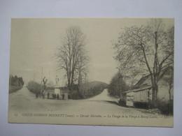 COUPE GORDON BENETT 1905 -  BOURG-LASTIC - LE VIRAGE DE LA VIERGE           ANIME     TTB - Autres Communes