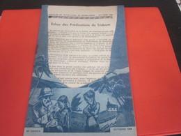 1946 ANNALES DE NOTRE-DAME DU SACRE-CŒUR-ACTIONS DE GRACE-VIE RELIGIEUSE-EGLISE à ISSOUDUN -MISSIONS-Culture  Religion - Religión