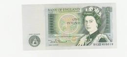 One Pound GB  / UNZ - 1952-… : Elizabeth II