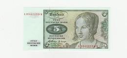 5 Deutsche Mark  1960 UNZ - [ 7] 1949-… : FRG - Fed. Rep. Of Germany