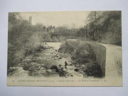 COUPE GORDON BENETT 1905 -   LA SIOULE A PONTGIBAUD        ANIME     TTB - Autres Communes
