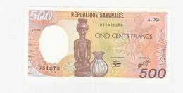 500 Francs UNZ - Gabon