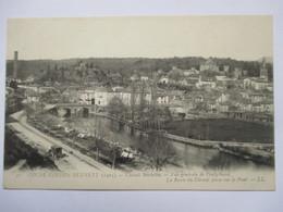 COUPE GORDON BENETT 1905 -    PONTGIBAUD   - LA ROUTE DU CIRCUIT .....        TTB - Autres Communes
