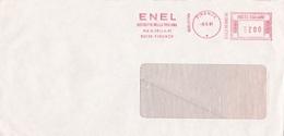 ITALIA LOTTO N°  2 AFFRANCATURA ROSSA ENEL - Affrancature Meccaniche Rosse (EMA)