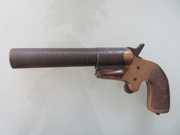 BEAU PISTOLET LANCE FUSEES MLE 1917 - Decorative Weapons