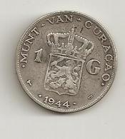Curacao 1944 1 Guilder Silver - Curacao