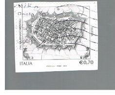 ITALIA REPUBBLICA  -   2013   -   MURA DI LUCCA       -   USATO  ° - 6. 1946-.. Repubblica
