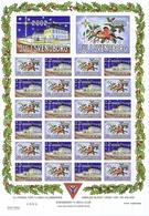 Denmark, Local Christmas Seals - Y's Men's Club Svendborg.  Full Sheet 2002.  MNH ** - Not Folded - Altri