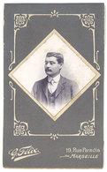 Photo Cdv Portrait D'un Homme ( Photo Félix Marseille ) - Personnes Anonymes