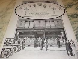 ANCIENNE PUBLICITE  BIJOUX CREATION JUCLIER 1912 - Bijoux & Horlogerie