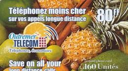 CARTE TELEPHONIQUE PREPAYEE..OUTREMER TELECOM   160 UNITES. - France