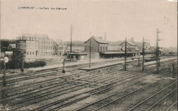 Libramont La Gare Vue Interieure - Stations Without Trains