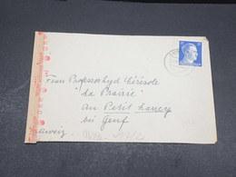 ALLEMAGNE - Enveloppe Pour La Suisse Avec Contrôle Postal - L 17592 - Allemagne
