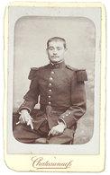 Photo Cdv Soldat En Tenue, 58e Régiment - Guerre, Militaire