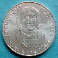 France - Pièce De Monnaie 100 Francs Baptême De Clovis 1996 Argent Superbe - Francia