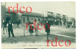 FRANCE PARIS, Dépôt Des Tramways, Avenue De Versailles - Trasporto Pubblico Stradale