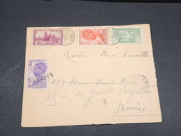 CÔTE D'IVOIRE - Enveloppe De Sassandra Pour Paris En 1938 , Affranchissement Plaisant - L 17606 - Côte-d'Ivoire (1892-1944)