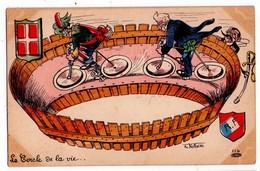 1527 - Caricature Politique De Ph. Norwins : Le Cercle De La Vie - N°114 - - Satiriques