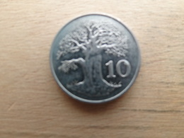 Zimbabwe  10  Cents  1980  Km 3 - Zimbabwe