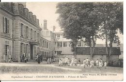 ORPHELINAT NATIONAL. COLONIE. PELOUSE DE SPORT - Avernes