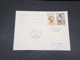 POLYNÉSIE - Enveloppe 1 ère Liaison Polynésie / France En 1960 - L 17610 - Briefe U. Dokumente