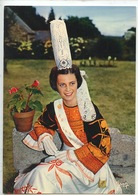 Pont L'Abbé 1975 : La Reine Des Brodeuses (n°23/642 Cp Vierge) Folklore Tradition - Pont L'Abbe