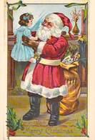 NUGERON- PUB Publicité Père Noël N°9 Santa Claus (Christmas) * PRIX FIXE - Publicité