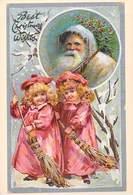 NUGERON- PUB Publicité Père Noël N°7 Santa Claus (Christmas) ** PRIX FIXE - Publicité