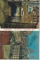 """Firenze - """" Alluvione 4 Novembre 1966""""  15 Photos. Leporello.  Italy.  # 760 # - History"""