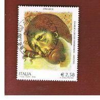 ITALIA REPUBBLICA  - UNIF. 2670  -   2002     CIMABUE             -            USATO - 6. 1946-.. Repubblica