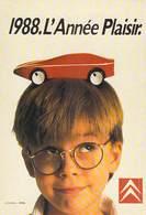NUGERON  N°J 133- PUB Publicité Campagne Publicitaire CITROEN 1988 : L'Année Plaisir. * PRIX FIXE - Publicité
