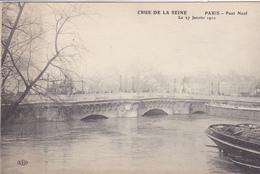75. PARIS. INONDATIONS DE 1910.  PONT NEUF. CRUE DE LA SEINE DU 27 JANVIER 1910 - Paris Flood, 1910