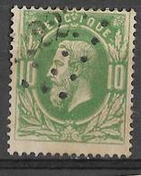 8Bs-769:N°30:Ps:222: LOKEREN - 1869-1883 Leopold II