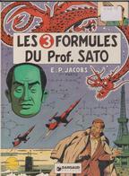 Blake Et Mortimer - N°10 - Les 3 Formules Du Prof. Sato - 1°Partie - E.O - Blake Et Mortimer
