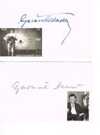 AUTOGRAPHES - JEUX OLYMPIQUES - HONGRIE - GEREVICH - ESCRIME - GYAMARTI - WATER POLO - - Autographs