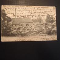 CPA Haute-Marne Langres Scierie Viennot - Langres