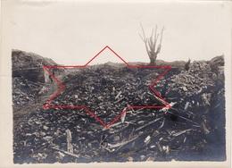 Photo Juin 1917 Chemin Des Dames - CRAONNE - Le Champs De Bataille (Photo J. PATRAS) (A193, Ww1, Wk1) - Craonne