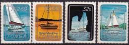 Tonga 1983-mi-N. MER. N. 865-868 ** - MNH-Navi/Ships - Tonga (1970-...)