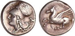 GRECIA ANTIGUA Estatero Corintio-Plata 350 - 306 A.J.C.  DL-12.190 - Griegas