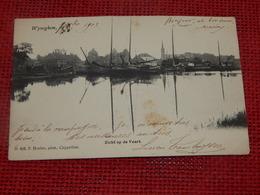 WIJNEGEM  -  WYNEGHEM  -  Zicht Op De Vaart  -  1903 - Wijnegem