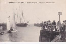 [14] Calvados > Courseulles-sur-Mer Entrée Du Port La Pêche A La Sardine - Courseulles-sur-Mer