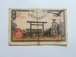 GIAPPONE 50 SEN 1945 - Giappone