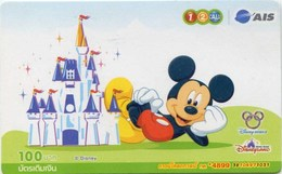 Mobilecard Thailand - 12Call / AIS - Disney - Mickey (2) - Thaïlande