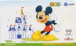 Mobilecard Thailand - 12Call / AIS - Disney - Mickey (7) - Thaïlande