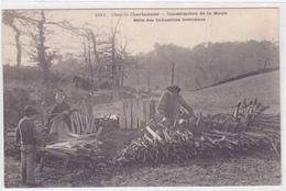 Cpa -metier-region-chez Le Charbonnier-construction De La Meule-industrie Bretonne-karten Bost - Kunsthandwerk