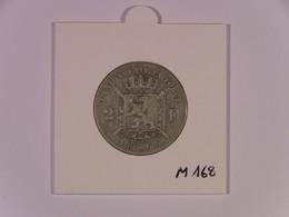 BLII 10 : Léopold II : 2 Francs 1866 FR Ag  TB+  Morin 168 - 1865-1909: Leopold II